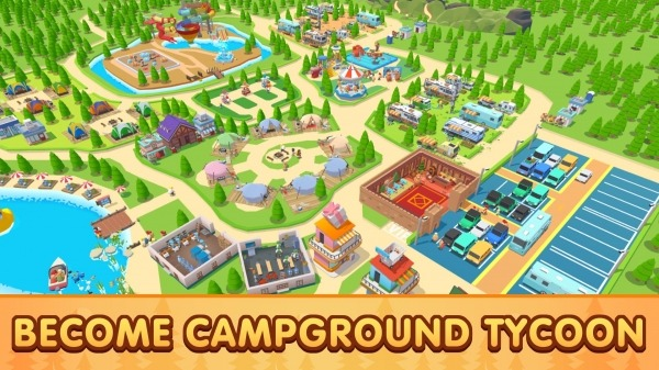 Campground Tycoon Android Game Image 4