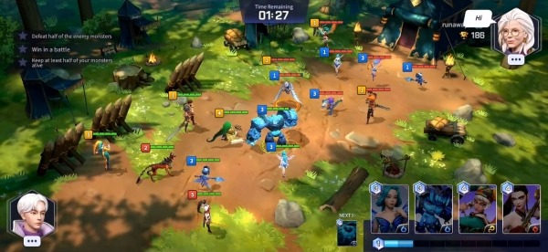 Summoners War: Lost Centuria Android Game Image 2