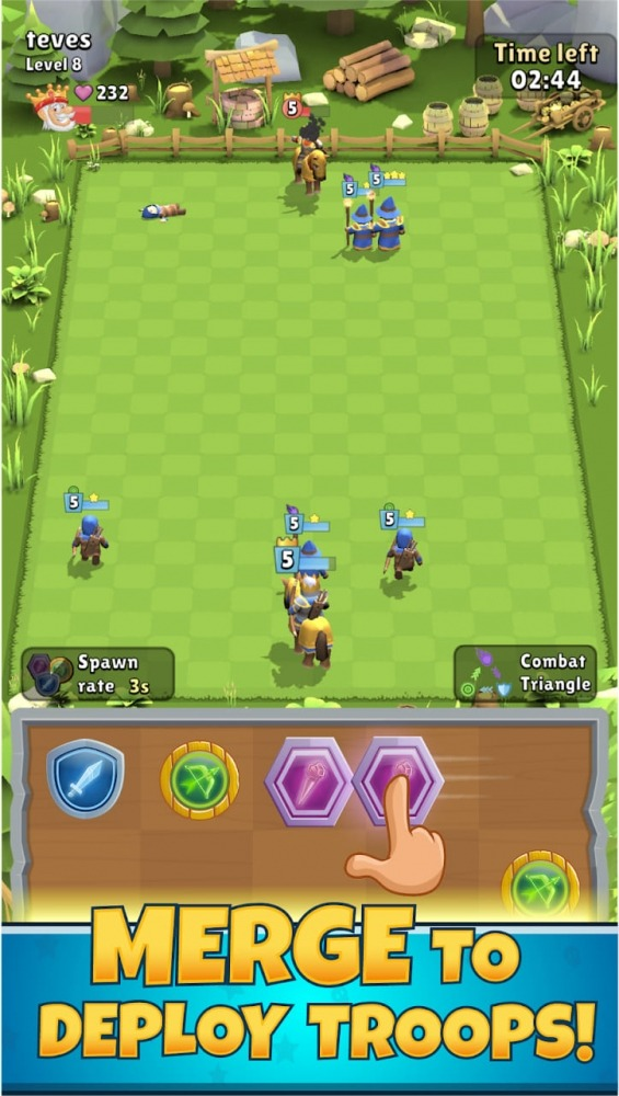 Kings Of Merge Android Game Image 2