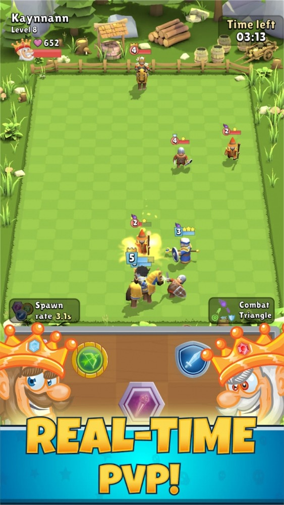 Kings Of Merge Android Game Image 3