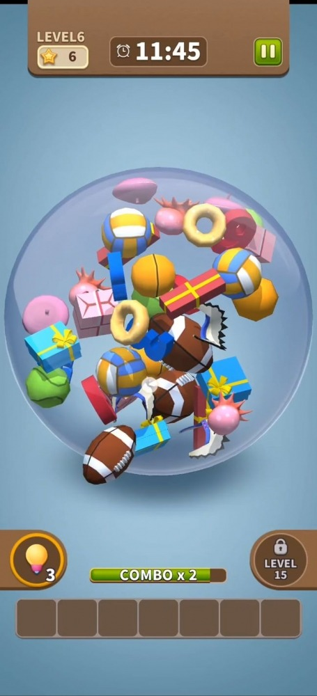 Match Triple Bubble - Match 3D & Master Puzzle Android Game Image 3