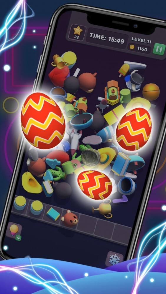 Tile Master 3D - Triple Match & 3D Pair Puzzle Android Game Image 1