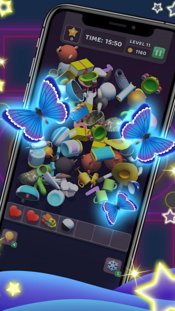 Tile Master 3D - Triple Match & 3D Pair Puzzle Android Game Image 2