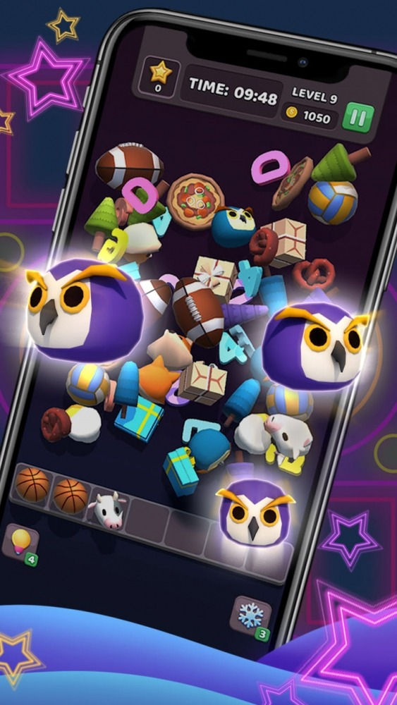 Tile Master 3D - Triple Match & 3D Pair Puzzle Android Game Image 3
