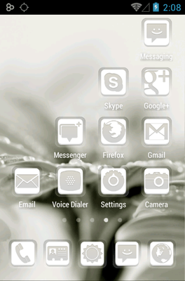 Dainty Icon Pack Android Theme Image 3