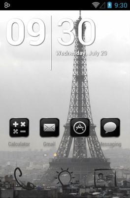 Paris Icon Pack Android Theme Image 1