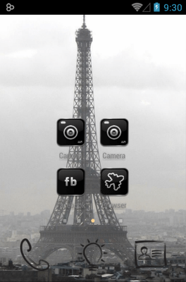 Paris Icon Pack Android Theme Image 2