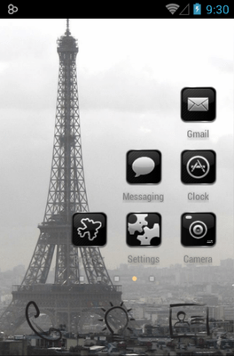 Paris Icon Pack Android Theme Image 3