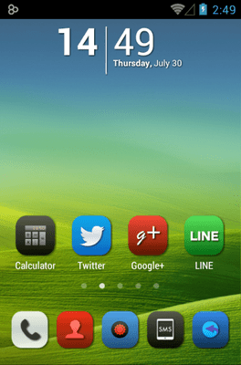 Iconia Icon Pack Android Theme Image 1
