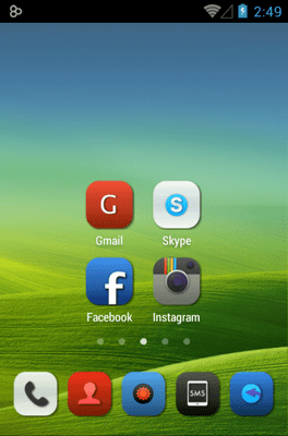 Iconia Icon Pack Android Theme Image 2