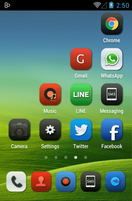 Iconia Icon Pack Android Theme Image 3