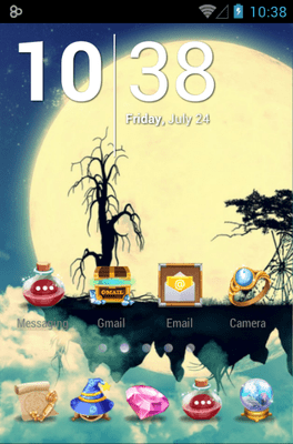 Crystal Balling Icon Pack Android Theme Image 1