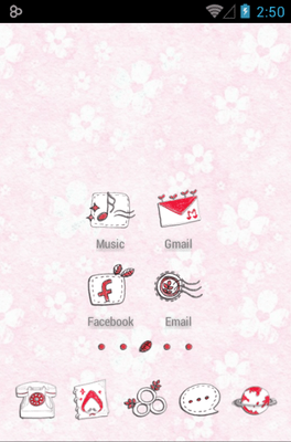 Little Red Cap Icon Pack Android Theme Image 2