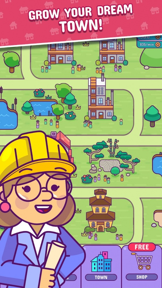 Puzzle Town - Tangram Puzzle City Builder Android Game Image 1
