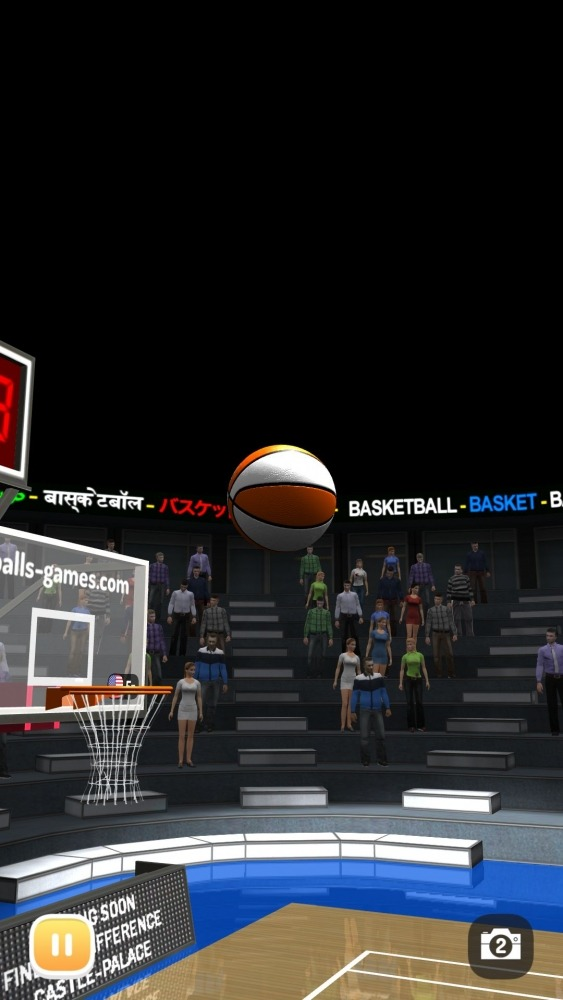Basketball 3D Shooting Contest, Real Free Shootout Android Game Image 2