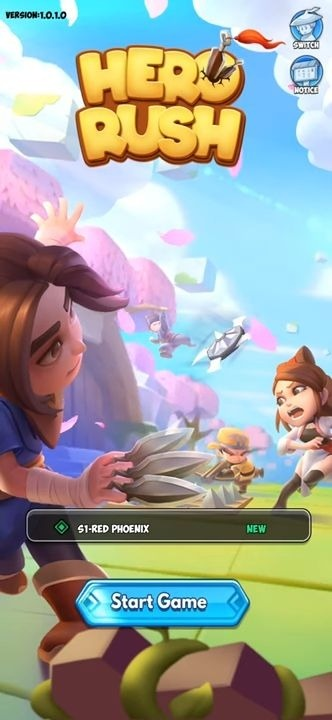 Hero Rush: Adventure RPG Android Game Image 1