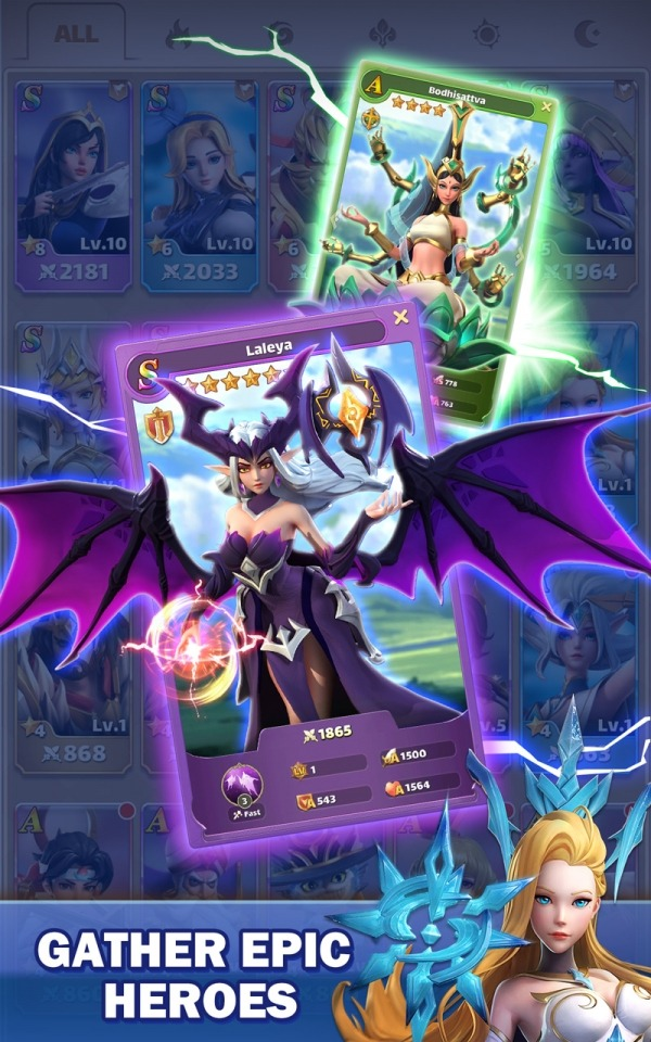 Legend Of Runes: Puzzle RPG Android Game Image 2