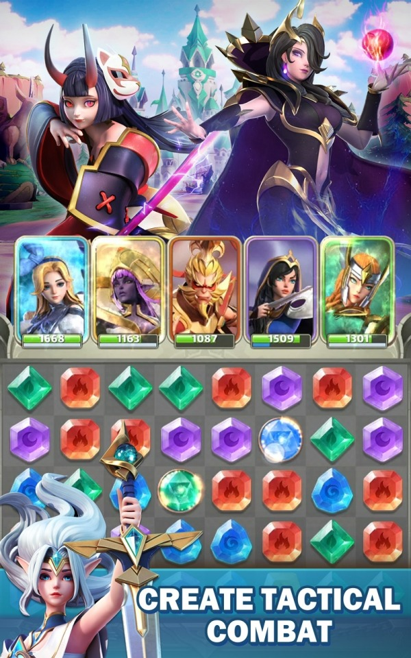 Legend Of Runes: Puzzle RPG Android Game Image 3