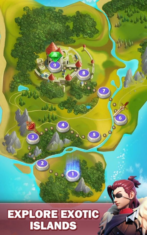 Legend Of Runes: Puzzle RPG Android Game Image 4