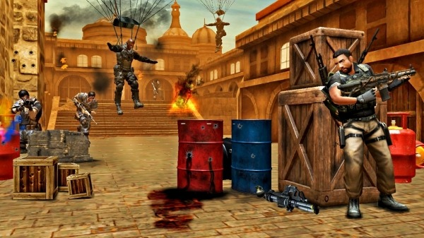 Soldier Combat Mission: Armed Gun Encounter Action Android Game Image 1