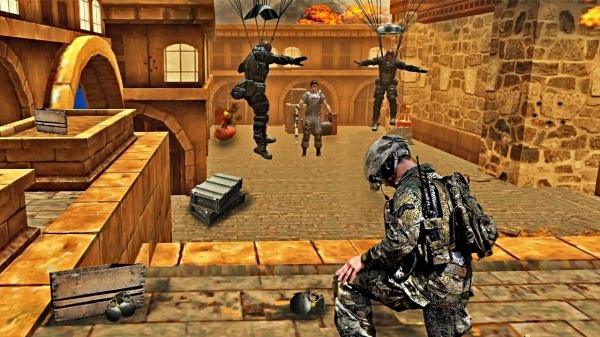 Soldier Combat Mission: Armed Gun Encounter Action Android Game Image 2