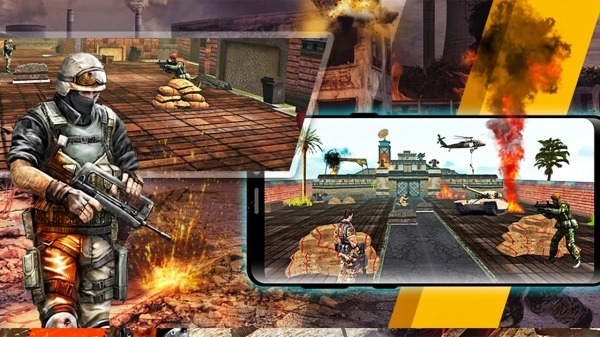 Soldier Combat Mission: Armed Gun Encounter Action Android Game Image 3