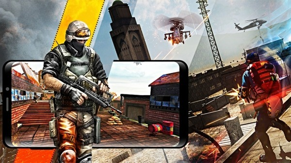 Soldier Combat Mission: Armed Gun Encounter Action Android Game Image 4