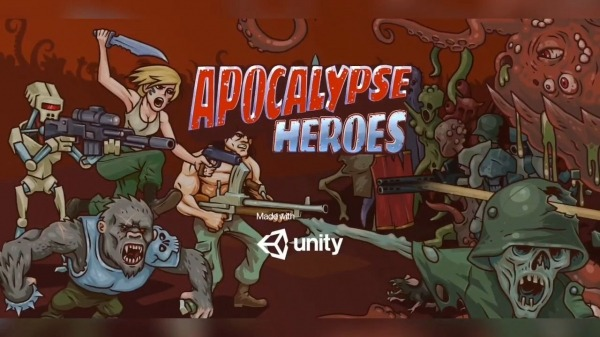 Apocalypse Heroes - Twin Stick Shooter Android Game Image 1