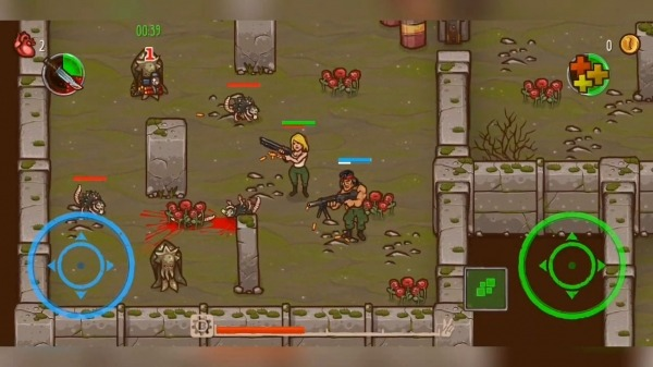 Apocalypse Heroes - Twin Stick Shooter Android Game Image 2