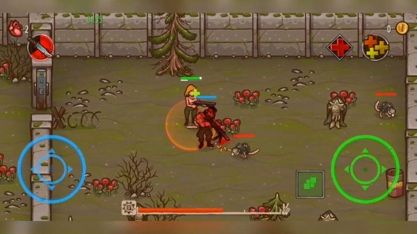 Apocalypse Heroes - Twin Stick Shooter Android Game Image 3