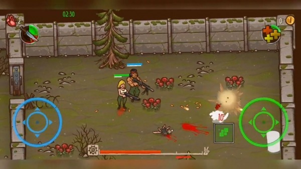 Apocalypse Heroes - Twin Stick Shooter Android Game Image 4