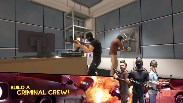 Crime Corp. Android Game Image 1