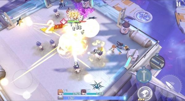 Girl Cafe Gun Android Game Image 3