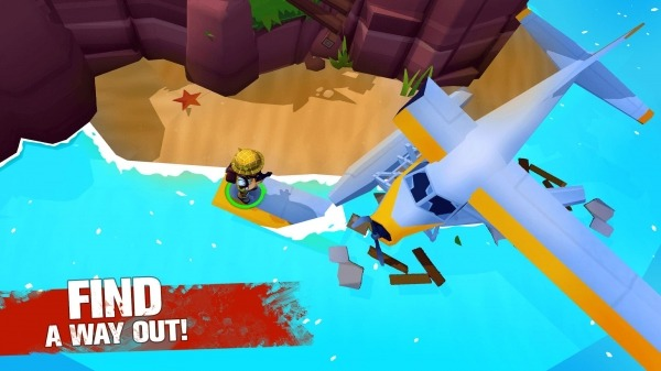 Grand Survival - Zombie Raft Survival Games Android Game Image 2