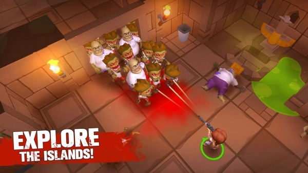 Grand Survival - Zombie Raft Survival Games Android Game Image 4