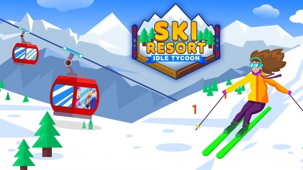 Ski Resort: Idle Tycoon - Idle Snow! Android Game Image 1