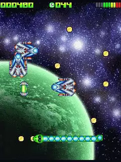 Snake Deluxe In Space Java Game Image 3