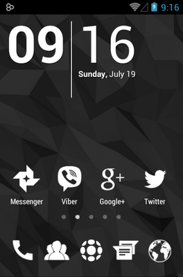 Whicons Icon Pack Android Theme Image 1