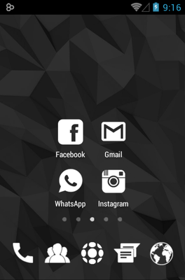 Whicons Icon Pack Android Theme Image 2