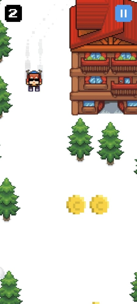 Mountain Ski Adventure Android Game Image 4