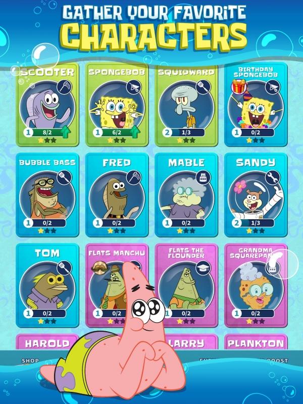 SpongeBob's Idle Adventures Android Game Image 2