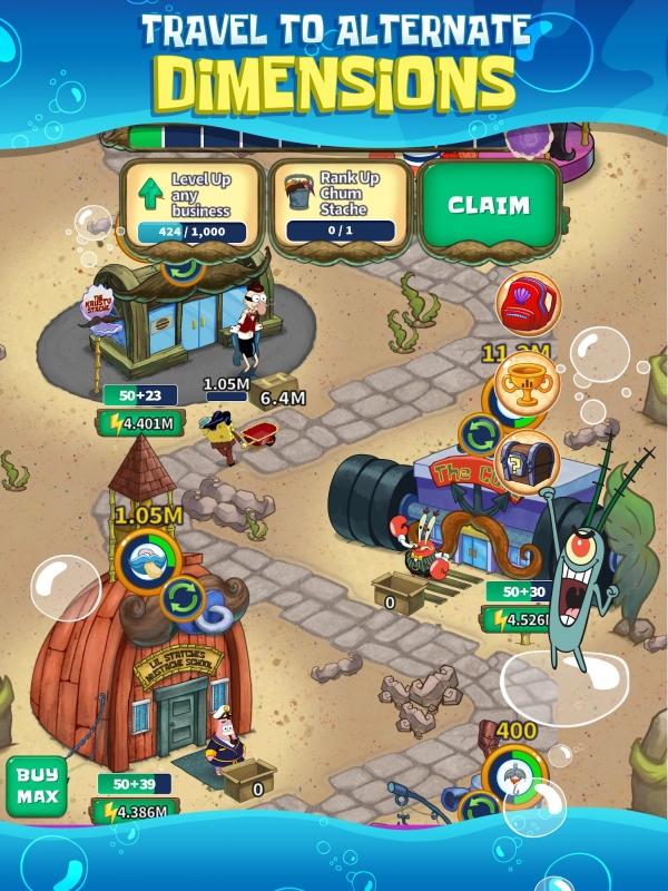 SpongeBob's Idle Adventures Android Game Image 3