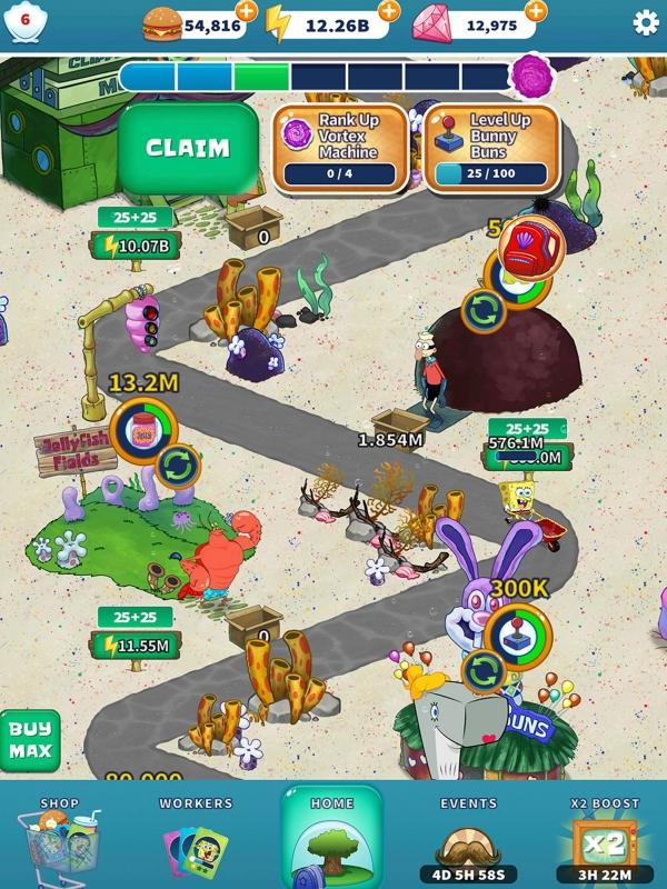 SpongeBob's Idle Adventures Android Game Image 4