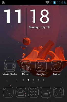 Ghost Icon Pack Android Theme Image 1