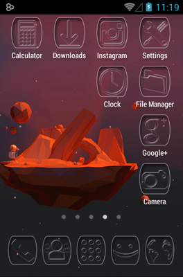 Ghost Icon Pack Android Theme Image 3