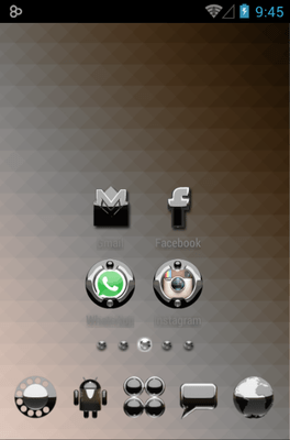Magic Icon Pack Android Theme Image 2