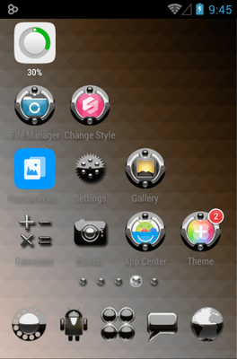 Magic Icon Pack Android Theme Image 3