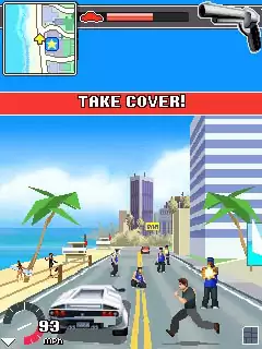 Driver L.A.Undercover Java Game Image 4