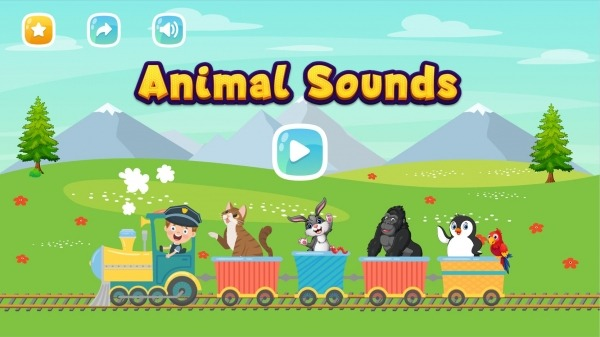 Animal Sound For Kids Learning Android Application Image 1