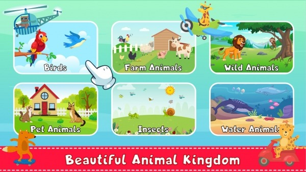 Animal Sound For Kids Learning Android Application Image 2